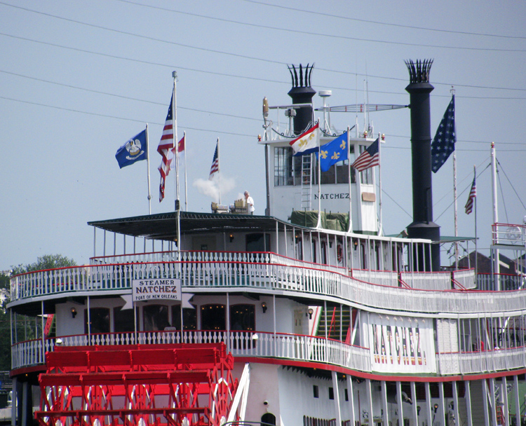 Calliope on the Natchez